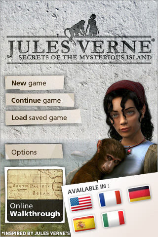 Screenshot Jules Verne's Secrets of the Mysterious Island