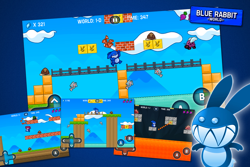 Screenshot Blue Rabbit&#8217;s Worlds