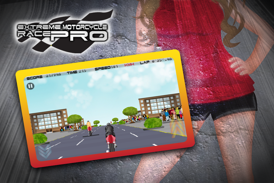 Screenshot Extreme Motorcycle Race Pro